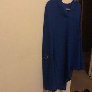 Elegant blue blouse
